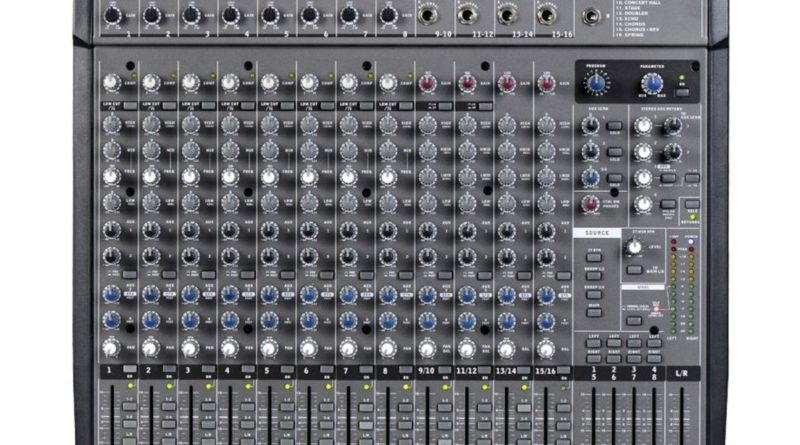table de mixage behringer